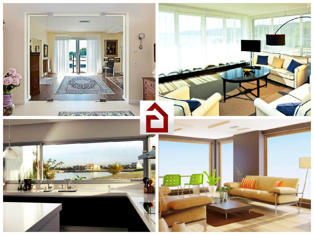Будьте в тренде - подарите вашему дому окна от потолка до пола!