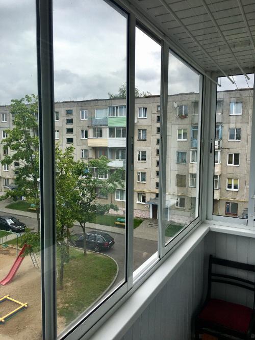 Балкон из алюминия в Гродно