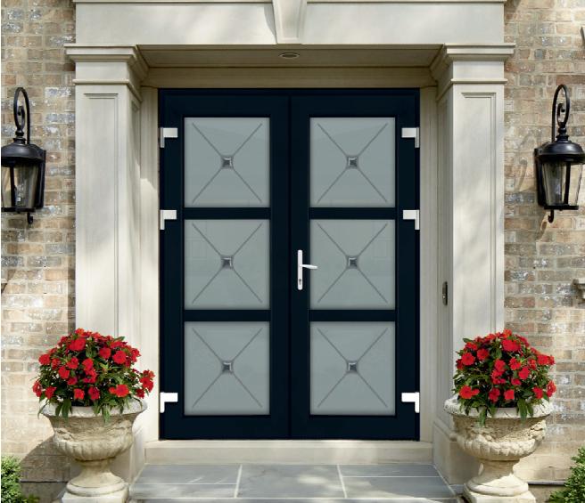 Входные двери пвх в частный дом фото