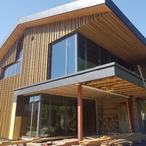 Алюминиевые окна в дом в Гродно