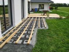 Строительство террасы возле дома