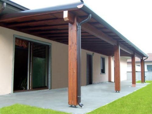 Строительство террасы без фундамента