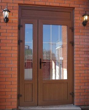 Двери ПВХ для дачи