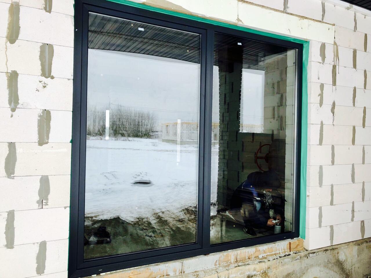 Окна для коттеджа в Гродно