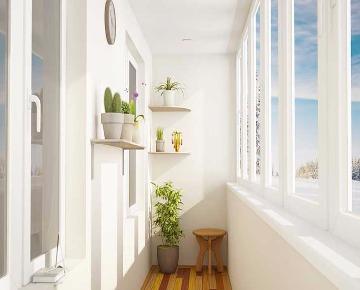 Окна из ПВХ на балкон