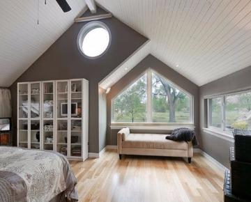 Окна нестандартной формы в доме фото