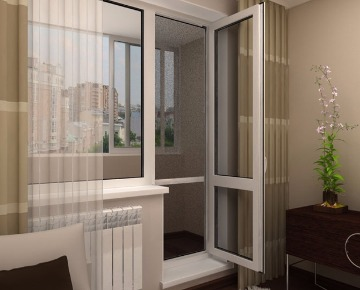 Окна в квартиру