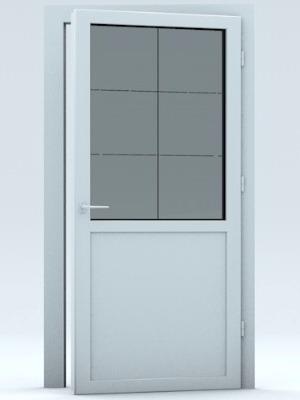 Пластиковые двери для туалета