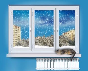 Пластиковые тёплые окна