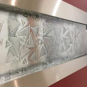 Дверные вставки из декоративного стекла