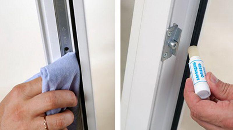 Уход за уплотнительными резинками пластикового окна